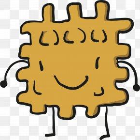 Exquisite Biscuit Design - Smiley Human Behavior Happiness Yellow Clip Art PNG