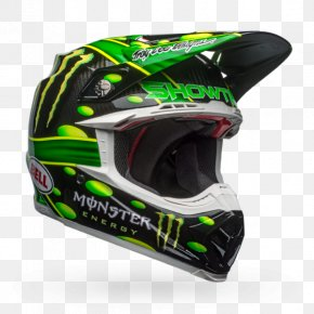 Motorcycle Helmets - Motorcycle Helmets Monster Energy AMA Supercross An FIM World Championship Motocross Bell Sports PNG