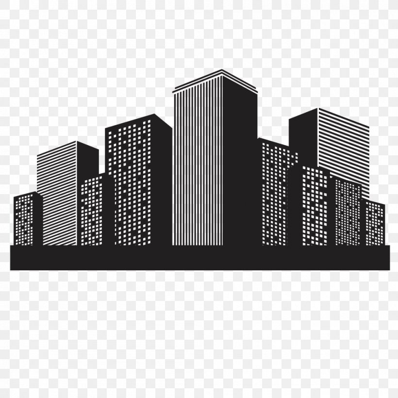 Vector Building Euclidean Vector, PNG, 1001x1001px, Vector Building, Architecture, Black And ...