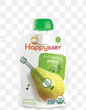 Pear - Baby Food Organic Food Breakfast Cereal Happy Family Smoothie PNG