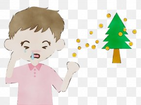 Happy Play - Cartoon Child Tree Clip Art Toddler PNG