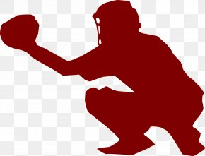 Baseball - Catcher Baseball Fastpitch Softball Clip Art PNG