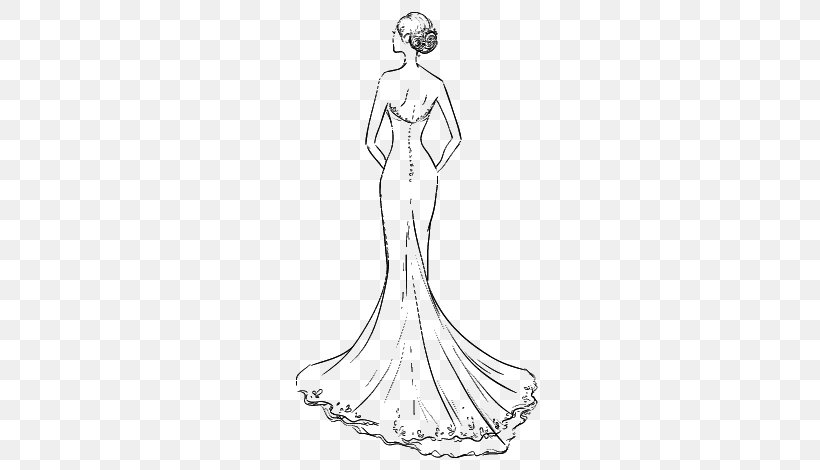 Wedding Dress Clothing Drawing Skirt Png 600x470px Dress Arm Artwork Barbie Black And White Download Free