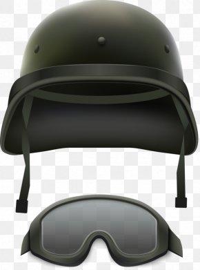 Black Helmet - Military Camouflage Helmet Army Illustration PNG