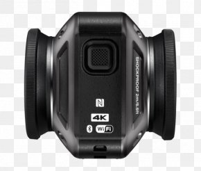 360 Camera - Nikon KeyMission 360 4K Resolution Action Camera Video Cameras PNG