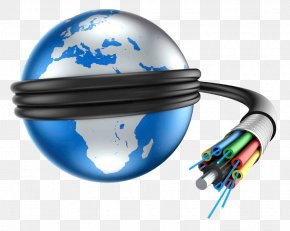 Internet - Optical Fiber Fiber-optic Communication Fiber To The X Internet Bandwidth PNG