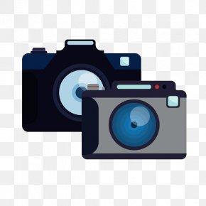 Two Cameras, Simple Strokes - Digital Cameras PNG