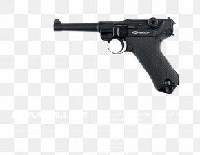 Handgun - Luger Pistol Air Gun Firearm Blowback PNG
