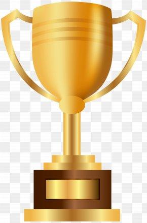 Gold Prize Cup Transparent Clip Art - Prize Trophy Clip Art PNG