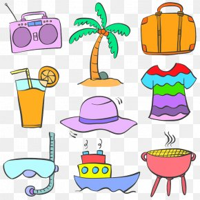 Barbecue Icon - Vector Graphics Illustration Drawing Image Doodle PNG