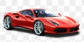 Red Ferrari 488 GTB Car - 2016 Ferrari 488 GTB Ferrari 458 Ferrari F12 Dino PNG