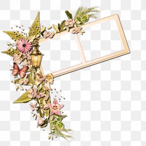Wildflower Picture Frame - Picture Frame PNG