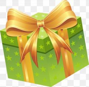 Blue Star Gift Box - Gift Box Clip Art PNG