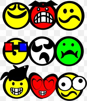 Smiley Face Cartoon - Smiley Emoticon Cartoon Clip Art PNG