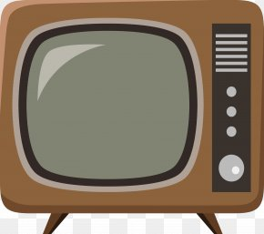 The Old Version Of The TV - Television Set Icon PNG