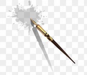 Pen - Cold Weapon Fountain Pen PNG