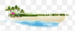 Beach - Beach Chemical Element PNG