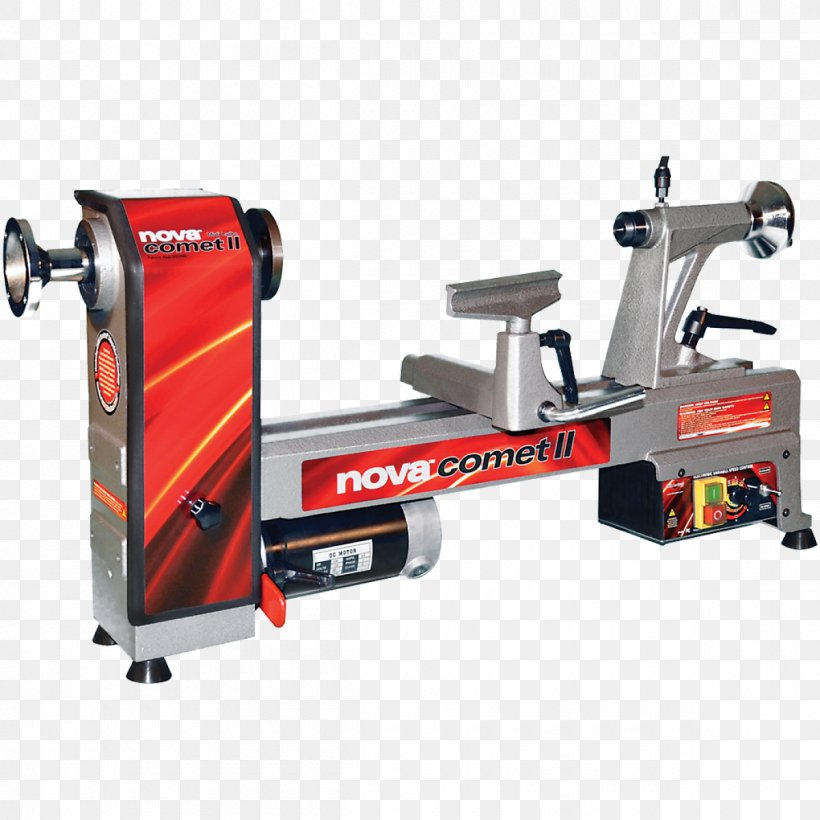 NOVA 46300 Comet II Variable Speed Mini Lathe 2013 Edition 12Inch X 1 Woodturning Woodworking Tool, PNG, 1200x1200px, Lathe, Adjustablespeed Drive, Chuck, Hardware, Machine Download Free