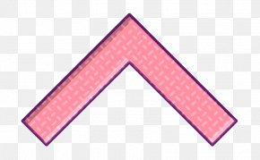 Triangle Pink - Arrow Icon Essential Icon Set Icon PNG