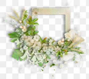 Greenery Wedding - Floral Design Flower Watercolor Painting Wreath PNG