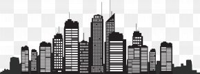 Building Silhouette - New York City Silhouette Skyline Cityscape PNG
