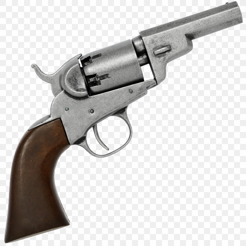 Colt Pocket Percussion Revolvers Colt's Manufacturing Company Firearm Colt Single Action Army, PNG, 1000x1000px, 45 Colt, Revolver, Air Gun, Colt 1849 Pocket, Colt 1851 Navy Revolver Download Free
