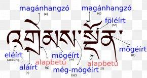 Tibetan Word Of Art - Standard Tibetan Sanskrit Tibetan Alphabet Letter Nepalese Scripts PNG