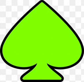 Ace Of Spades Playing Card Clip Art PNG