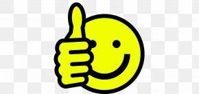 Smiley - Smiley Thumb Signal Emoticon Clip Art PNG
