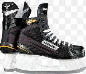 Ice Skates - Bauer Hockey Ice Skates Ice Hockey Equipment Supreme PNG