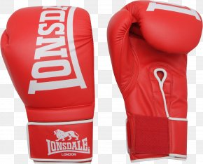 Red Boxing Gloves Image - Boxing Glove Lonsdale Everlast PNG
