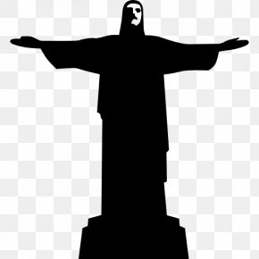 Brazil Vector - Christ The Redeemer Corcovado Statue PNG