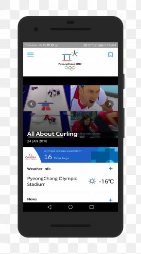 Smartphone - Feature Phone Smartphone Samsung Galaxy Note 8 Winter Olympic Games PNG