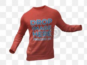 Creative Holiday T-shirt Mockup - T-shirt Sleeve Hoodie Crew Neck PNG