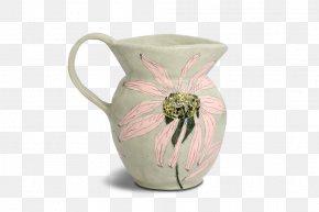 Ceramic Pot Chrysanthemum - Jug Ceramic Pottery Flower PNG
