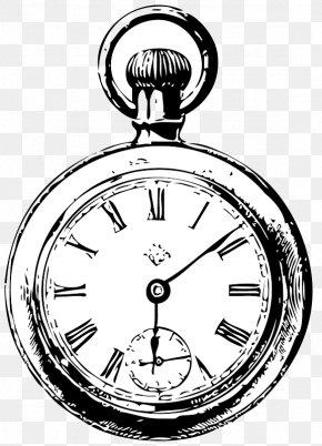 Cute Pocket Cliparts - Alarm Clock Drawing Pocket Watch PNG