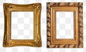 Frame Gold - Picture Frames Gold Clip Art PNG