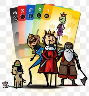 King Card Game - Court Game Toy Clip Art PNG