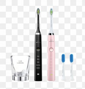 Toothbrush - Electric Toothbrush Sonicare Gums Dental Care PNG