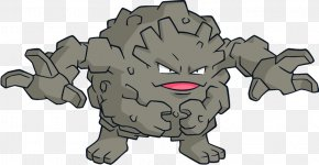 Play Ground - Pokémon Crystal Dog Graveler Golem PNG