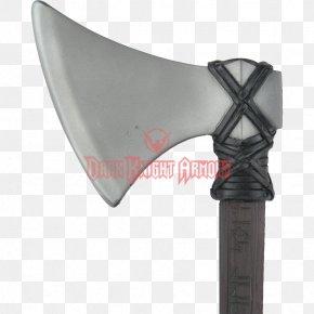 Viking Axe - Larp Axe Calimacil Battle Axe Dane Axe PNG