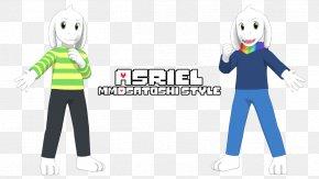 Undertale Asriel - Undertale Model Computer File Art Download PNG