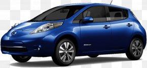 Nissan - 2017 Nissan LEAF Volkswagen Honda Electric Vehicle PNG