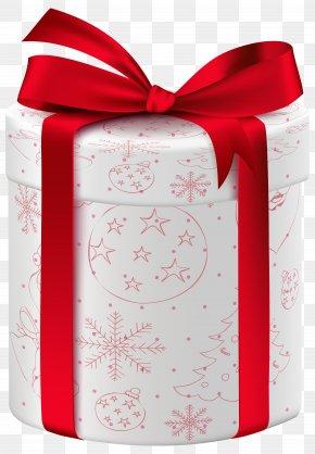 Christmas White Gift Clip Art Image - Christmas Gift Christmas Gift Christmas Eve Box PNG
