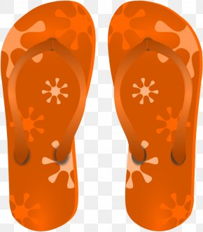 Flipped Cliparts - Flip-flops Sandal Clip Art PNG