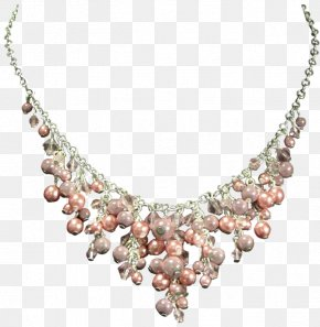 Necklace - Pearl Necklace T-shirt Jewellery Earring PNG