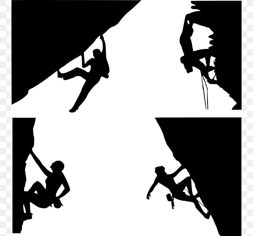 Climbing Wall Rock Climbing Indoor Climbing Clip Art, PNG, 746x766px, Climbing, Alpine Climbing, Art, Black And White, Climbing Wall Download Free