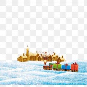 Winter Huts - Christmas Computer File PNG