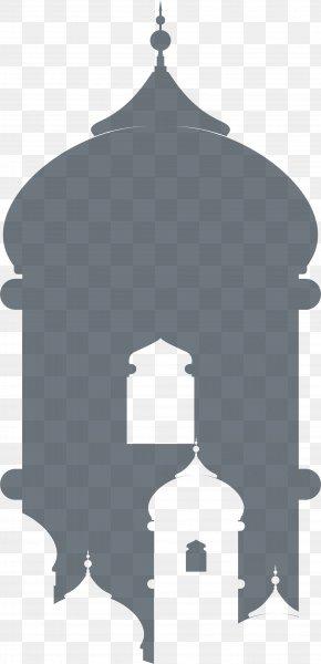Eid Al Fitr; Grey Church Roof - Eid Al-Fitr Grey Islam PNG
