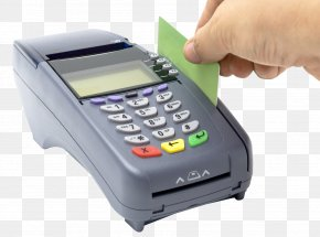 Credit Card Reader - Point Of Sale Payment Terminal Credit Card Payment Processor PNG